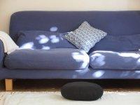 kanapa w mieszkaniu